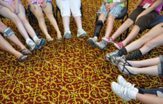Shoes for different sized feet - cerebral palsy