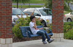 Teen Talking on Phone
