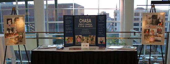 Chasa trifold display