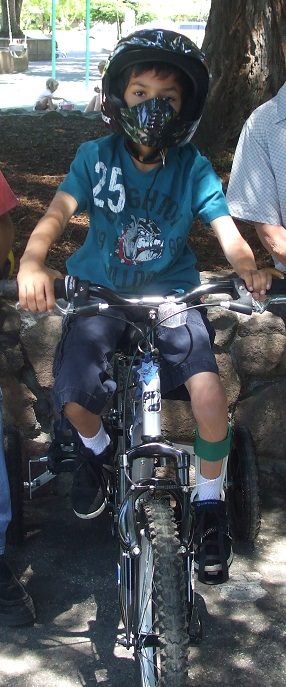Bike Riding with Hemiplegic Cerebral Palsy